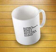 Vegan Documentaries Mug #veganmug #vegan #vegangift #vegandocumentaries #documentariesmug #cowspiracy #veganism #forksoverknives #blackfish #earthlings #ethicalveganmug #mugs #mug #whitemug #drinkware #drink&barware #ceramicmug #coffeemug #teamug #kitchen&dining #giftmugs #cup #home&living #funnymugs #funnycoffecup #funnygifts