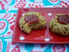 #vegan #glutenfree PB cookies #christmascookies