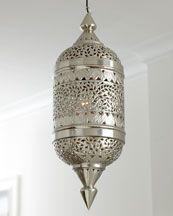 H61A7 Pierced Silver Lantern