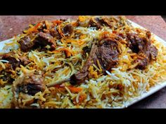Muslim Style Degi Mutton Biryani With Homemade Biryani Masala | Delhi Wali Degi Biryani Recipe - YouTube Easy Rice Recipes, Eid Special, Biryani Recipe, Eid Collection, Rice Dishes, Muslim, Spaghetti, Homemade, Chicken