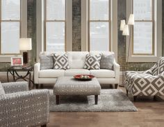 Caroline Living Room Set by Fusion at Crowley Furniture in Kansas City
