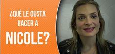 ¿A Nicole qué le gusta hacer, además de la música? ¡Mira esta entrevista!