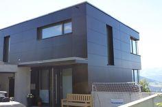 fundermax in residential housing fundermax 211 fassaden. Black Bedroom Furniture Sets. Home Design Ideas