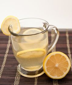 Hot Toddy for sore throat - trying this when I get home!