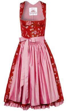 Dirndl ruffled petticoat