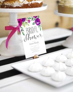 Garden Party Bridal Shower Bridal/Wedding Shower Party Ideas | Photo 9 of 77