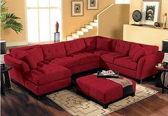 Shop for a Cindy Crawford Home  Metropolis Cardinal Left  4 Pc Sectional Living Room at Rooms To Go. Find Living Room Sets that will look great in your home and complement the rest of your furniture.