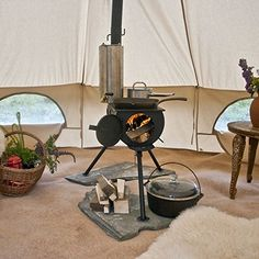 Frontier Stove and Kit - Wood Burning Stove Anevay