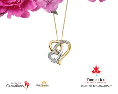Mother's Day if fast aproching, what mother wouldn't love hearts and diamonds?  The fire & Ice Canadian Diamonds colection are mined, cut, and polished in Canada and set in Canadian Certified Gold. http://www.bocianjewellers.ca/