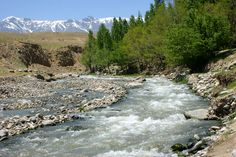 River near Paghman, Afghanistan