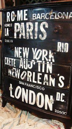 Barcelona, London, Menorca, Brisbane, Gold Coast, Punta Cana, N.Y.C, San Fransico, Los Angeles, K.C.M.O, Dallas, Charlotte, Memphis, New Orleans, Detroit