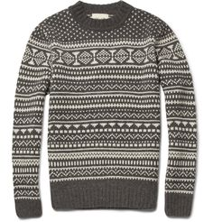 NN.07 Akira Fair Isle Wool-Blend Sweater | MR PORTER