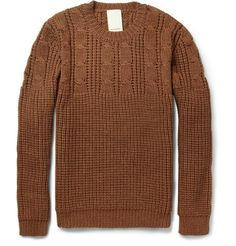 WooyoungmiChunky Cable-Knit Wool Sweater