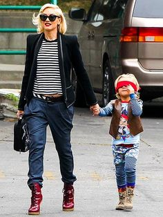 Gwen Stefani and her son Zuma. || Beach Braces 1730 Manhattan Beach Blvd. Suite B, Manhattan Beach, CA 90266 TEL: 310-379-0006 Fax: (310) 379-7051 #ManhattanBeach #California #Orthodontist #StraightTeeth #BestOrthodontist