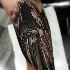 death black tattoo