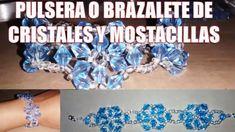 Pulsera juvenil de cristales - Paso a paso (Bisute