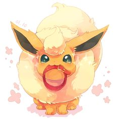 Flareon quiere pasear