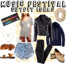 """Music Festival Outfit #3"" by bisforbek on Polyvore"