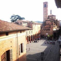 Piazza Verdi dal 32 #bologna #piazza #