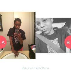Witch pic of me? Tap to vote http://sms.wishbo.ne/U1ak/BhByJBvz4t