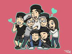 RM Family ❤ cr: RMdoodle #runningman