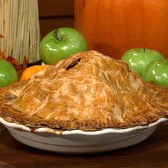 The perfect dessert to my Dad is Apple Pie with vanilla ice cream. Here is the recipe for Carla Hall's (Top Chef contestant) Mile High Apple Pie. http://beta.abc.go.com/shows/the-chew/recipes/Thanksgiving-Carla-Hall-Ten-Gallon-Apple-Pie