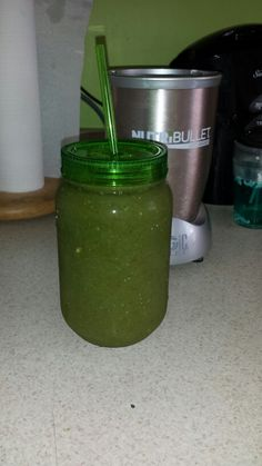 Ahhhh!!! Day 1 of my 10 Day Green Smoothie Cleanse is here! This is the Berry Green!
