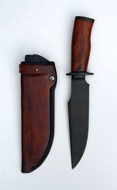 Markman Taurus 21 with custom leather sheath.