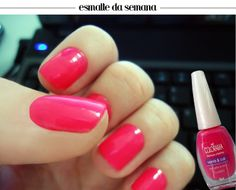 One of the most famous pink nail polishes in Brazil - Colorama Clubber