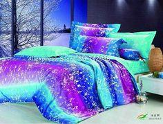 Teenage girl comforter bed sets purple bedding for girls ruffle Teal Bedding Sets, Purple Bedding, Teen Bedding, Queen Bedding Sets, Queen Beds, Comforter Sets, Queen Sheets, King Comforter, Duvet Bedding