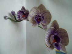 Мобильный LiveInternet Орхидея валяние из шерсти.Мк по мокрому валянию. | Juliana-Juliana - Дневник Juliana-Juliana |