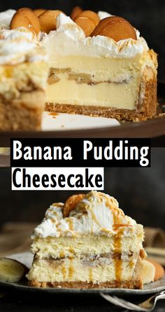 Banana Pudding Cheesecake – Dessert & Kuchen Rezepte Banane … – The Most Beautiful Recipes Banana Dessert Recipes, Banana Pudding Recipes, Easy Cake Recipes, Healthy Dessert Recipes, Cookie Recipes, Delicious Desserts, Homemade Banana Pudding, Cinnamon Desserts, Summer Cake Recipes