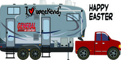 Happy Easter From General RV!  www.generalrv.com