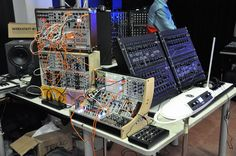 MATRIXSYNTH: Nantes Synth Fest 2015 Pics by Modular Square