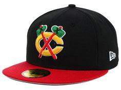 Chicago Blackhawks New Era NHL Basic 59FIFTY Cap Hats Chicago Blackhawks a1a480a1ff76