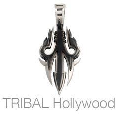 PREDATOR Pendant in Gunmetal and Silver by Bico Australia | Tribal Hollywood