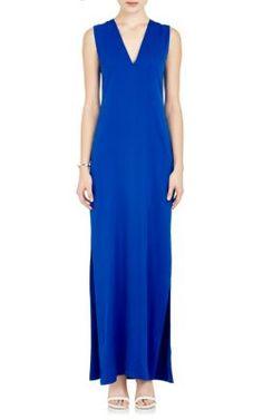 Ji Oh Silk Maxi Dress at Barneys New York