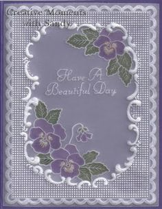 pergamano - Page 11 Homemade Greeting Cards, Greeting Cards Handmade, Vellum Crafts, Parchment Design, Parchment Cards, Stationery Craft, Butterfly Template, Beautiful Handmade Cards, Silk Ribbon Embroidery