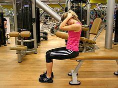 Cvik č. 3: Svaly šíje (svaly zadní strany krku). - V konečné pozici vydržte 10 vteřin (tj. přibližně 2 klidné nádechy).
