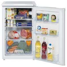 For snacks and drinks  Lec L5010W Larder Fridge, A+ Energy Rating, 50cm Wide, White Online at johnlewis.com