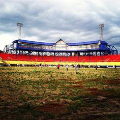 Remember the glory days. Rosenblatt Stadium, summer 2012 before demolition. Omaha NE