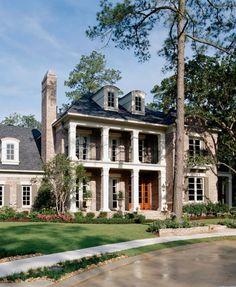 Forest Glen home by Gary/Ragsdale, Inc. Via Coastal Living House Plans.