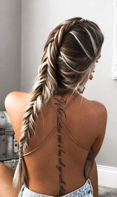 Spine Tattoos back