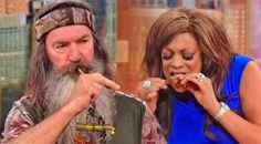 Country Music Lyrics - Quotes - Songs Duck dynasty - Wendy Williams Eats Squirrel During Funny Interview With The Robertsons - Youtube Music Videos http://countryrebel.com/blogs/videos/27547587-wendy-williams-eats-squirrel-during-funny-interview-with-the-robertsons