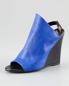 Leather Glove Wedge - Lyst