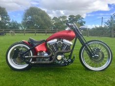Harley Davidson Custom Hardtail Bobber