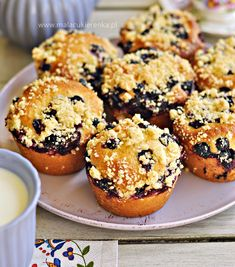 Doughnut Muffins, Bakers Gonna Bake, Polish Recipes, No Bake Cake, Deserts, Food Porn, Food And Drink, Cupcakes, Tasty