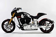 Arch Motorcycles unveils three new motorcycles at EICMA, featuring single-sided swingarms and a carbon-fiber MonoCell chassis. Hear the Method 143 in our video. Arch Motorcycle, Power Bike, Motorcycle Companies, Bike Shed, New Motorcycles, Top Gear, Keanu Reeves, Cool Bikes, Motorbikes