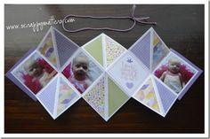 Squashed Scrapbook Card #ctmh #card #scrapbooking