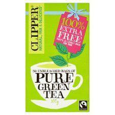 Clipper Pure Green 26 Teabags 50G